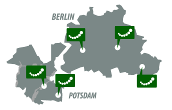 Standorte Berlin und Potsdam